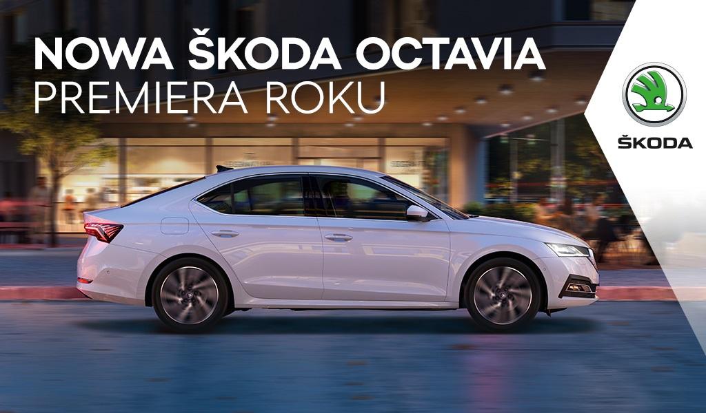 Nowa Škoda Octavia Premiera Roku