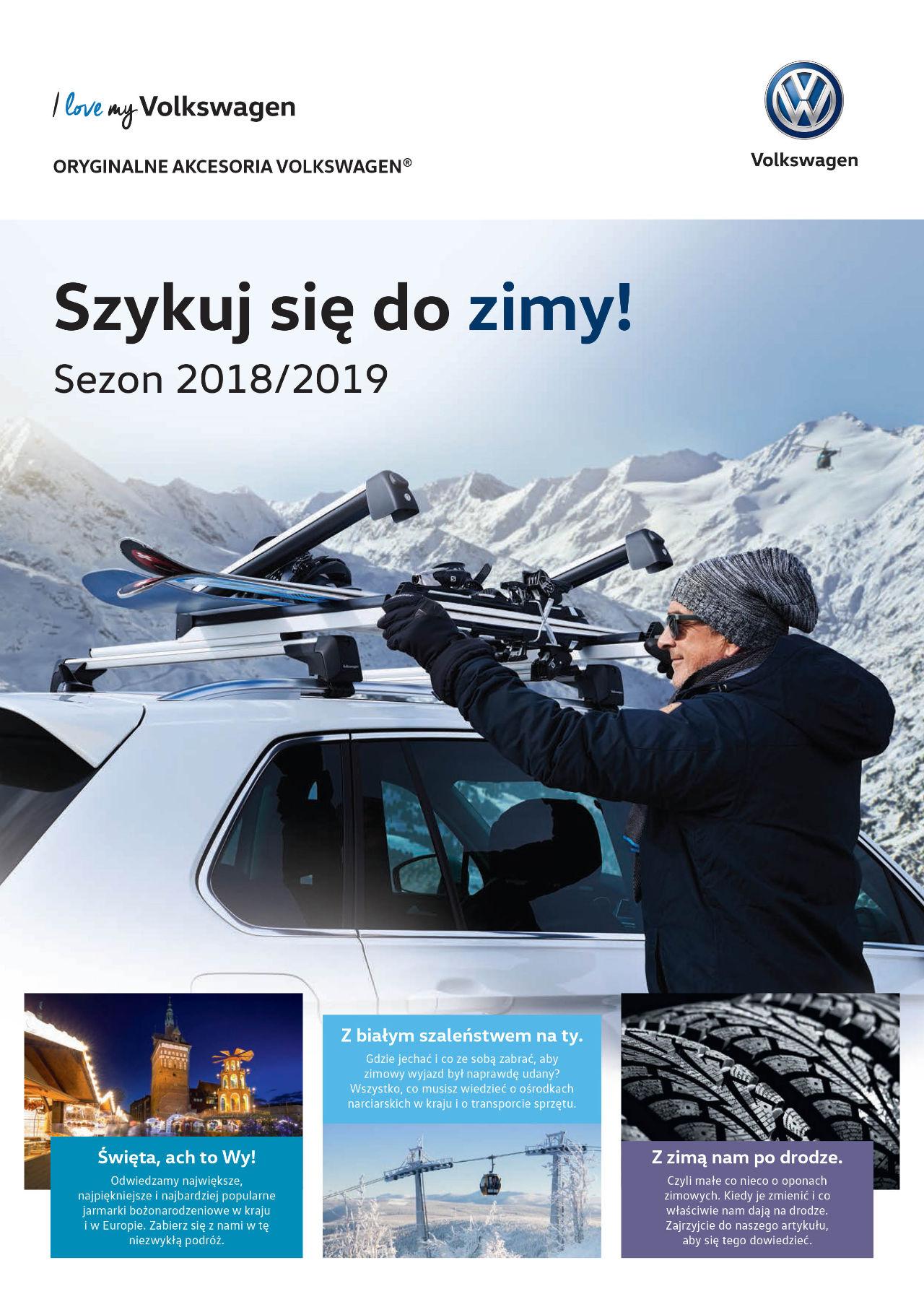 Szykuj się do zimy - gazetka 2018