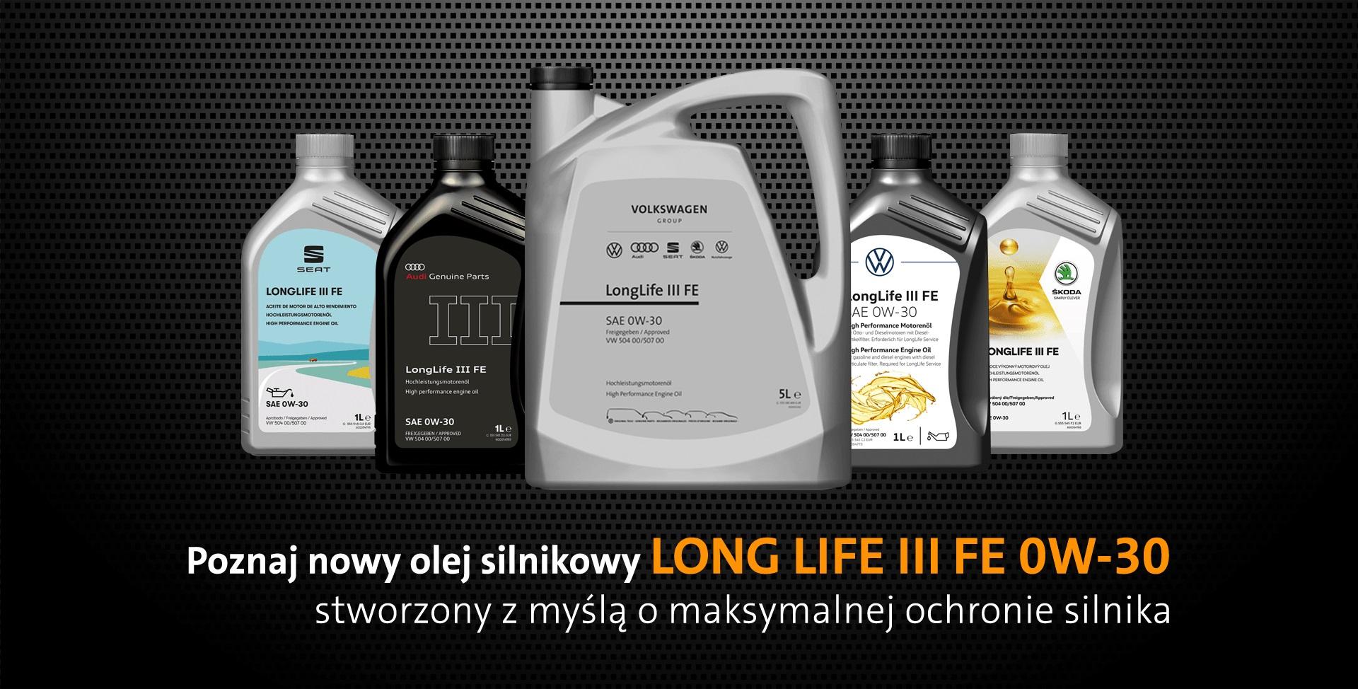 Olej rekomendowany przez koncern Volkswagen